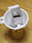 コーヒー缶のの再利用